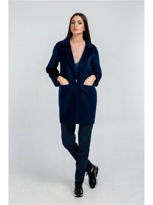 Пальто Exalta. Цвет: темно-синий