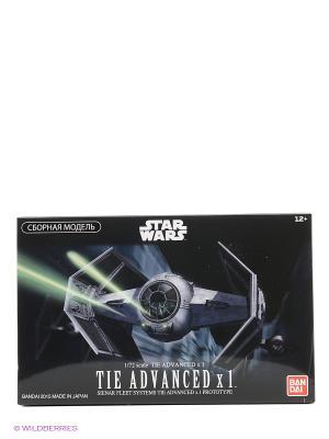 SW Сборная модель Истребитель TIE Advance1/72 Bandai. Цвет: черный