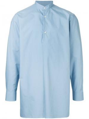 Рубашка свободного кроя Guild Prime. Цвет: синий