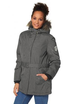 Куртка-парка H.I.S.. Цвет: темно-серый
