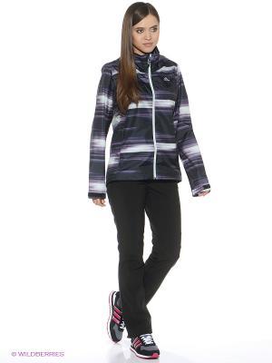 Куртка W 2L AOP WT J Adidas. Цвет: фиолетовый