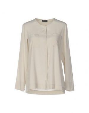 Pубашка ANNECLAIRE. Цвет: бежевый