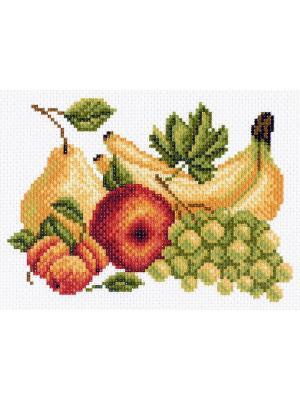 Рисунок на канве Фрукты Матренин Посад. Цвет: салатовый, желтый
