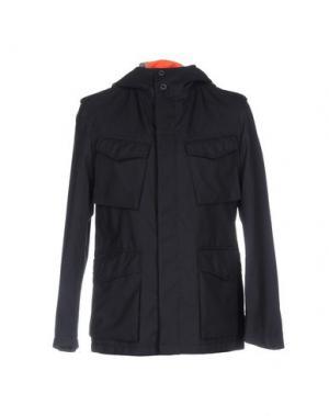 Куртка WOOSTER + LARDINI. Цвет: темно-синий