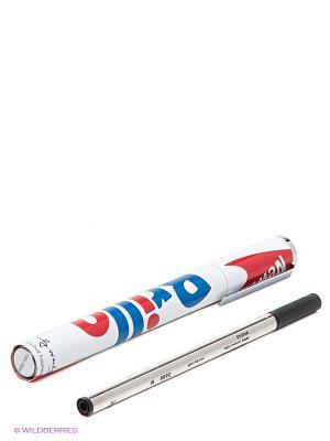 Ручка шариковаяBRILLO BOX TROIKA. Цвет: белый, красный