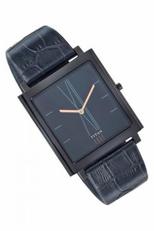 Часы наручные Titan. Цвет: черный