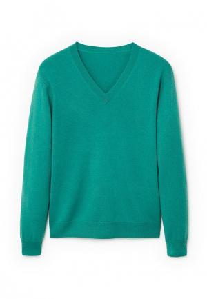 Пуловер Mango Man. Цвет: зеленый