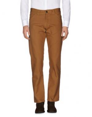 Повседневные брюки DICKIES. Цвет: коричневый