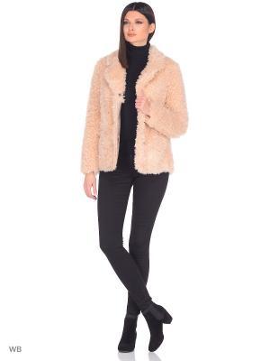 Пальто Socrat. Цвет: бледно-розовый