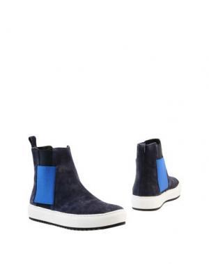 Полусапоги и высокие ботинки JOYKS. Цвет: грифельно-синий