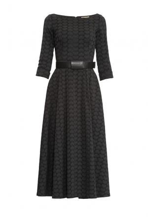 Платье с поясом 155688 Charisma. Цвет: черный