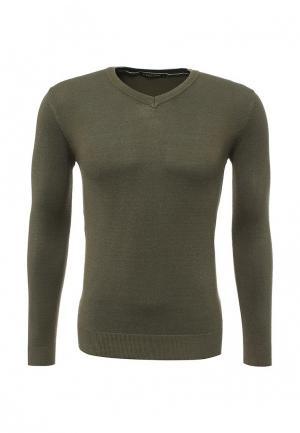 Пуловер Y.Two. Цвет: хаки