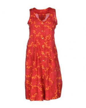 Короткое платье MARITHÉ + FRANÇOIS GIRBAUD. Цвет: красный