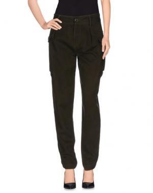 Повседневные брюки POLO JEANS COMPANY. Цвет: темно-зеленый
