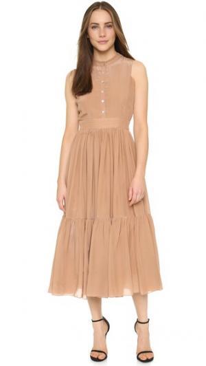 Платье в деревенском стиле Carolina K. Цвет: выцветший розовый