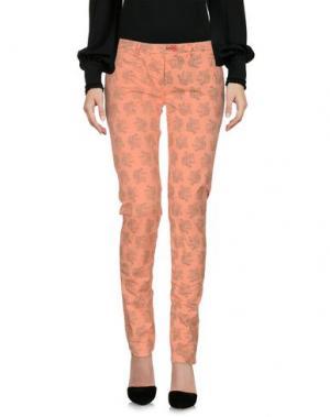 Повседневные брюки SUPERPANTS. Цвет: абрикосовый