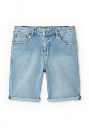 Шорты джинсовые Mango Man. Цвет: голубой