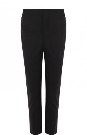 Однотонные укороченные брюки Jacquemus. Цвет: черный