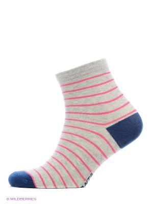 Носки ANTA. Цвет: серый, розовый, синий