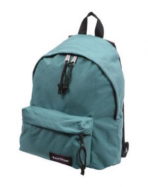 Рюкзаки и сумки на пояс EASTPAK. Цвет: бирюзовый