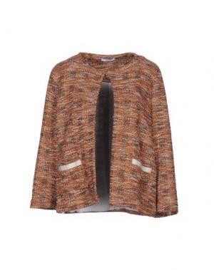 Пиджак CALALUNA. Цвет: коричневый