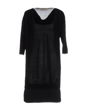 Короткое платье JUST FOR YOU. Цвет: темно-синий