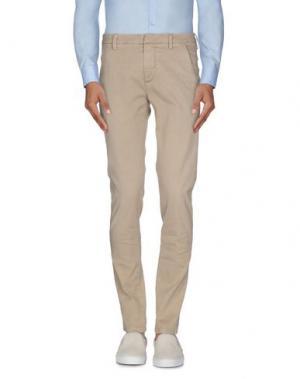Повседневные брюки DONDUP. Цвет: песочный