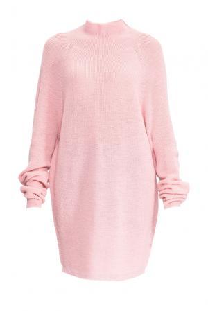 Туника из шерсти 153301 Norsoyan. Цвет: розовый