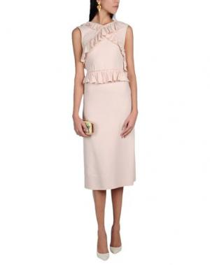 Платье длиной 3/4 SIMONE ROCHA. Цвет: розовый