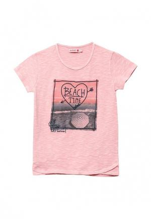 Футболка Boboli. Цвет: розовый