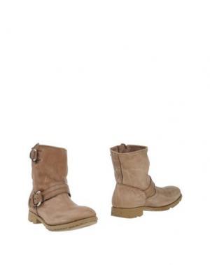 Полусапоги и высокие ботинки O.X.S.. Цвет: хаки