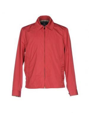 Куртка AQUASCUTUM. Цвет: красный