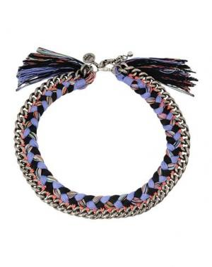 Ожерелье VENESSA ARIZAGA. Цвет: сиреневый