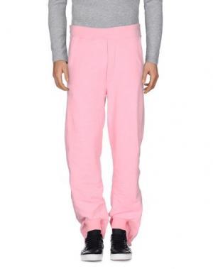 Повседневные брюки OMC. Цвет: розовый