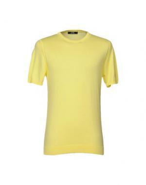 Свитер +39 MASQ. Цвет: желтый