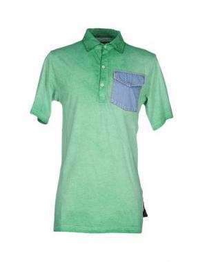 Поло ED 2.0. Цвет: зеленый