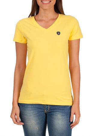 Футболка Galvanni. Цвет: yellow