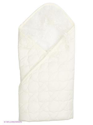 Одеяло-конверт Ласточка Сонный гномик. Цвет: молочный