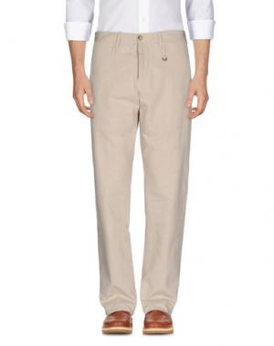 Повседневные брюки MARITHÉ + FRANÇOIS GIRBAUD. Цвет: бежевый