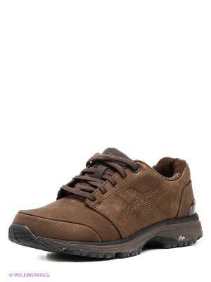 Ботинки ASICS. Цвет: коричневый