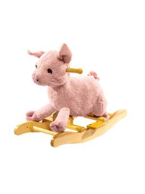 Поросенок-качалка Toyland. Цвет: розовый