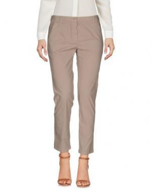 Повседневные брюки ..,MERCI. Цвет: светло-коричневый