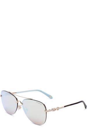 Солнцезащитные очки Tiffany & Co.. Цвет: серебряный