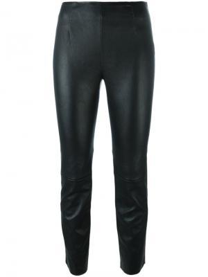 Укороченные брюки T By Alexander Wang. Цвет: чёрный