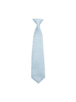 Галстук текстильный S`Cool. Цвет: голубой