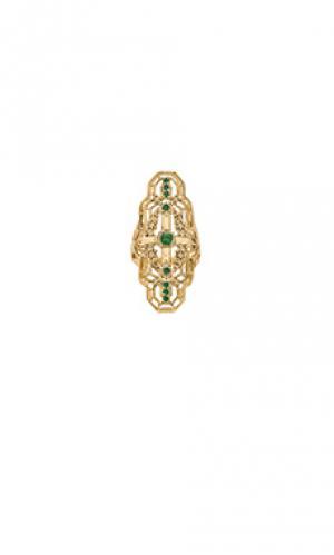 Кольцо alchemy SunaharA. Цвет: металлический золотой