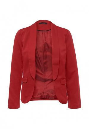 Пиджак Mim. Цвет: красный