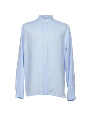 Pубашка EXIBIT. Цвет: лазурный