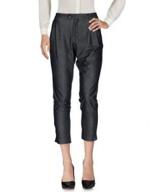 Повседневные брюки AIGUILLE NOIRE by PEUTEREY. Цвет: стальной серый
