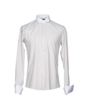 Pубашка QUINTESSENCE. Цвет: бежевый